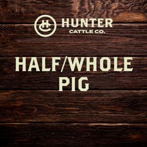 Half / Whole Pig